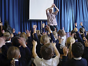 James at Thorley Hill Primary School